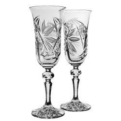 Liliom * Bleikristall Crystal esküvőre (2 db) (11698)