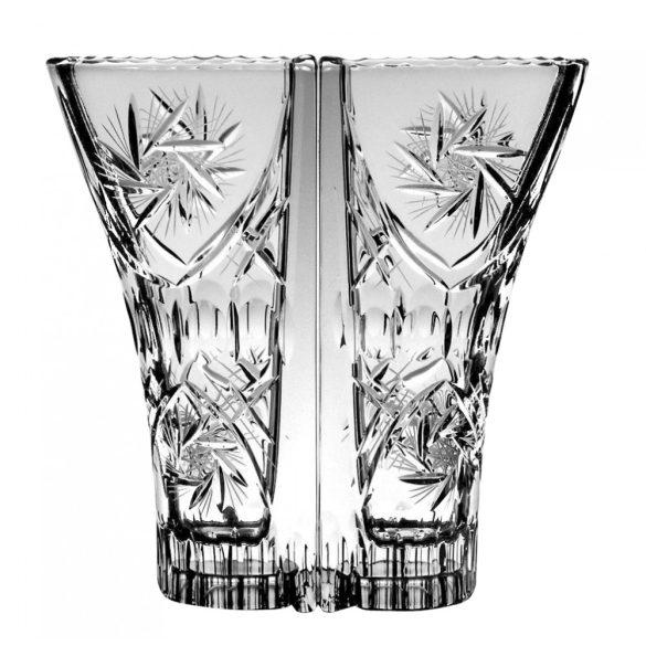 Victoria * Bleikristall Love Vase (doppelt) 22 cm (Dupla16114)