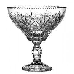 Laura * Bleikristall Platte mit Untersatz 21,7 cm (16317)