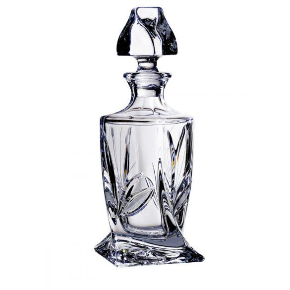 Viola * Kristall Whiskyflasche 400 ml (Cs17258)