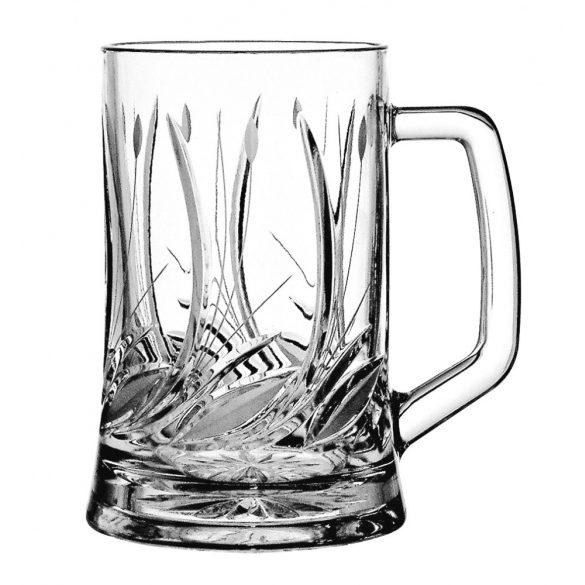 Viola * Glas Bierkrügel 0,7 (87) G (Pas17287)