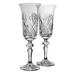 Laura * Kristall Crystal esküvőre (2 db) (17398)