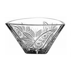 Liliom * Kristall Schale 18 cm (Tri17562)