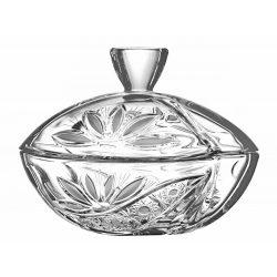 Liliom * Kristall Bonbonniere 18 cm (Smi17565)