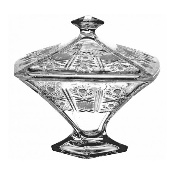 Classic * Kristall Bonbonniere 22,5 cm (Cs17776)