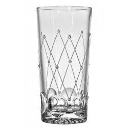 Pearl * Kristall Wasserglas 330 ml (Tos17815)