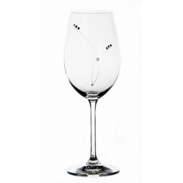 Pearl * Kristall Weinglas 350 ml (GasGD17855)