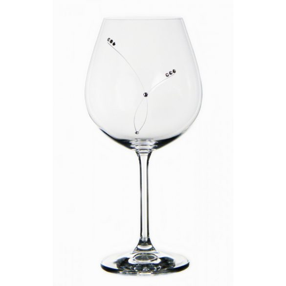 Pearl * Kristall GD Bordeaux Kelch 650 ml (GasGD17858)