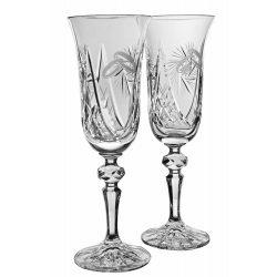 Victoria * Kristall Crystal esküvőre (2 db) (18098)