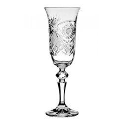 Kőszeg * Kristall Champagnerglas 150 ml (L18307)