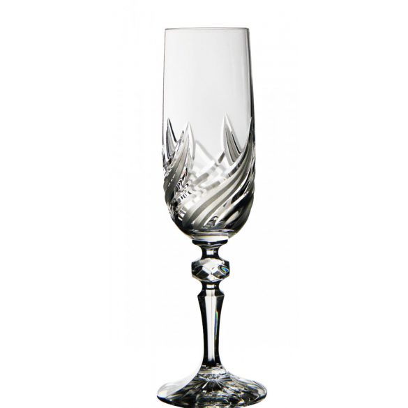 Fire * Kristall Champagnerkelch 180 ml (M18697)