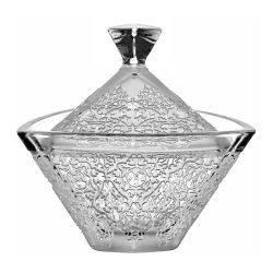Lace * Kristall Bonbonniere 18 cm (Tri19163)