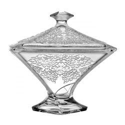 Lace * Kristall Bonbonniere 22,5 cm (Cs19176)