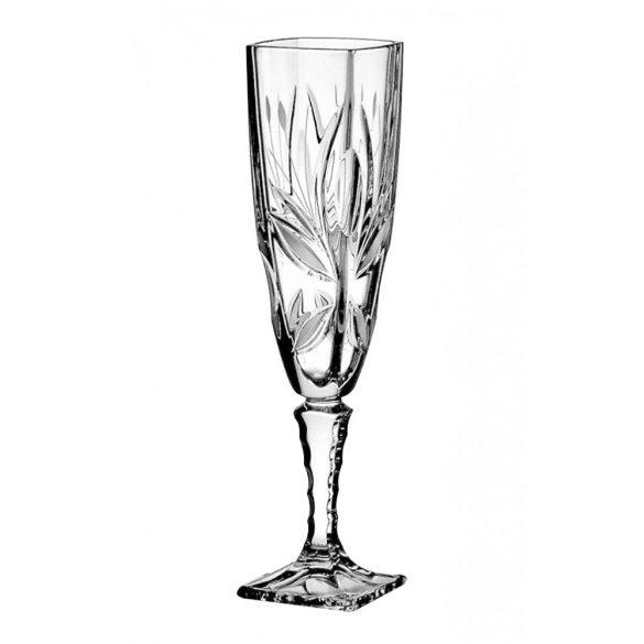 Viola * Kristall Sektglas 140 ml (Ar19507)