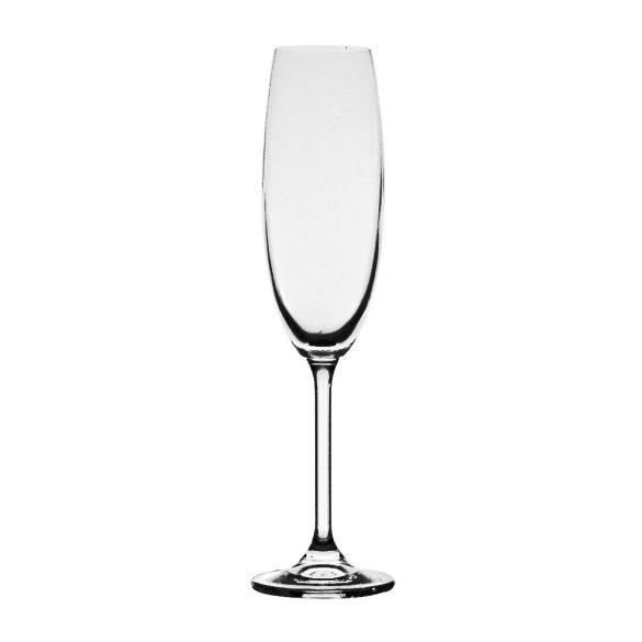 Gas * Kristall Flute Kelch 220 ml (Gas39859)