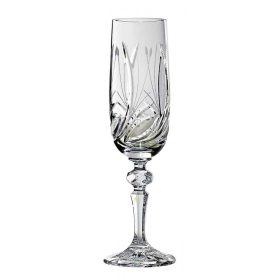 Kristall Champagnergläser